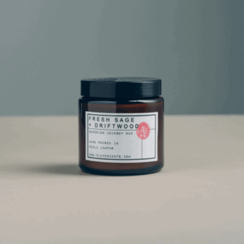 sage soy candle