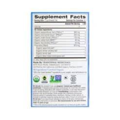 Nighty Night Tea Supplement Facts